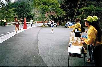 Hさんと並走~昨年(1999年)スナップより