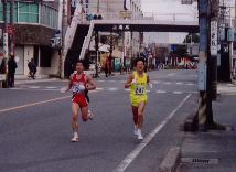 2001全日本実業団ハーフ 17km地点