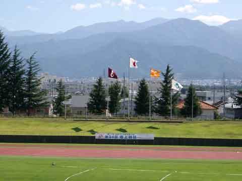 長野運動公園陸上競技場