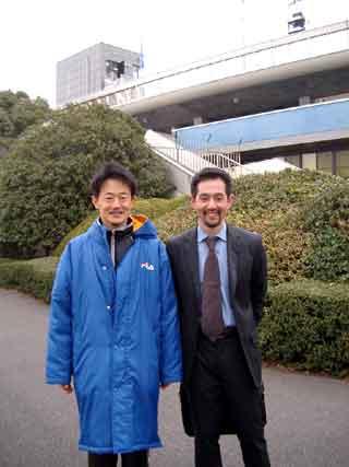 レース後、川嶋さんと