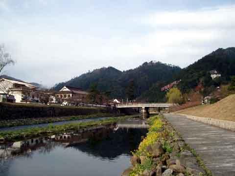 津和野川から望む
