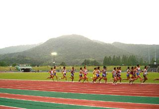 山口ナイター陸上5000m第2組