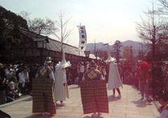 鷺舞、春の特別上演