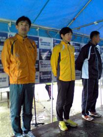 男子壮年10km表彰式