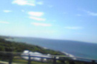 角島から見る日本海