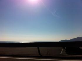 秋穂の海と空