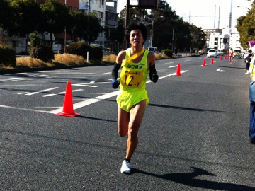 7区 田丸選手 初出場で好走