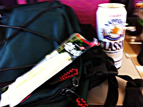 KIOSK は350ml缶しかなかったのでコープで買い足した500ml缶 スーパー北斗内にてヤケ酒 2