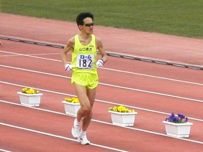 2008年びわ湖マラソンゴール