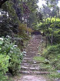 清水寺への石段