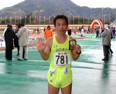 公認マラソン50回目のフィニッシュ