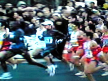 2008年東京マラソンスタート