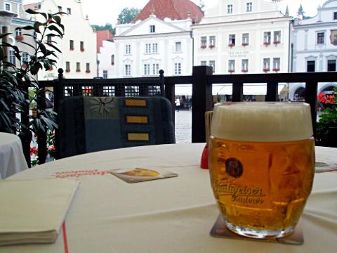 樽ジョッキが普通に出てくるビール消費量・世界一の国、チェコ
