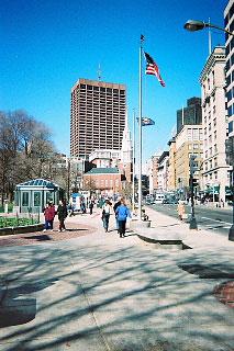 アメリカ最古の公園 ボストン・コモン