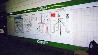 コープリー駅・ライン図