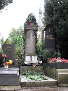 カレル・チャペックの墓