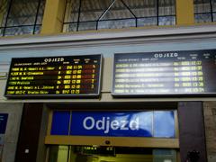 Odjezd 発車時刻