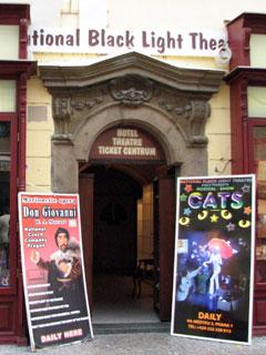 劇場上演の多いプラハ