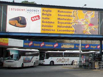 プラハフローレンツバスターミナル