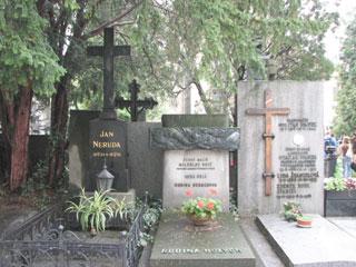 ヤン・ネルダの墓