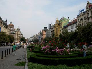 聖ヴァーツラフ広場