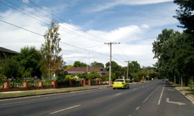 marathon course at Ballarat