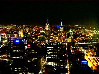 メルボルンタワーからの夜景
