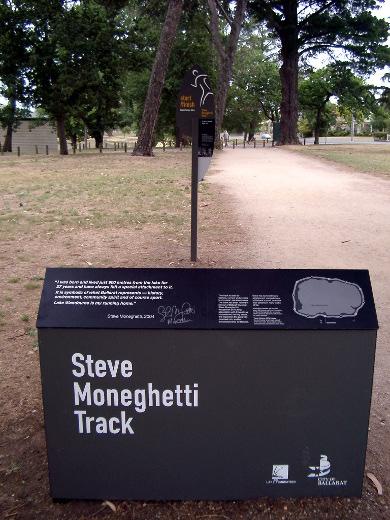 Steve Moneghetti Track
