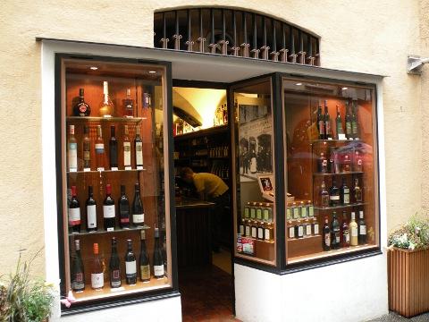 ゲトライデガッセのワインバー