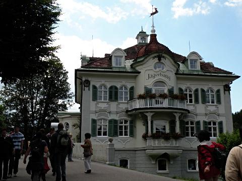 城麓のイェーガーハウス Jägerhaus
