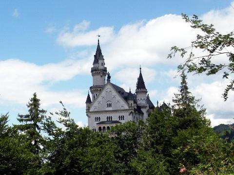 マリエン橋から見るノイシュヴァンシュタイン城