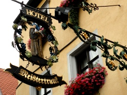 Rothenburg Schild