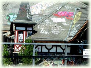 ベルン駅界隈
