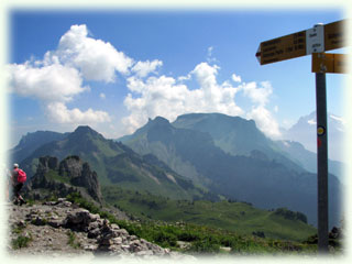 シーニゲプラッテ山頂