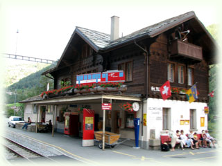 St.Niklaus(ザンクト・ニクラウス)駅