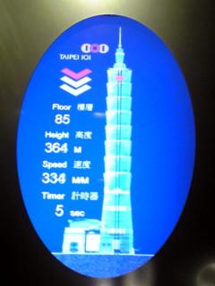 世界最速流線型エレベーター