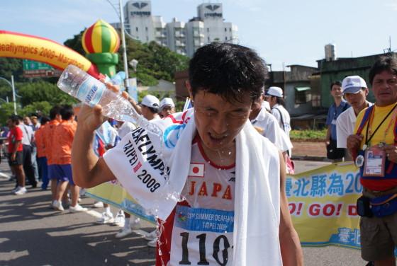 男子馬拉松決賽第三名為日籍選手