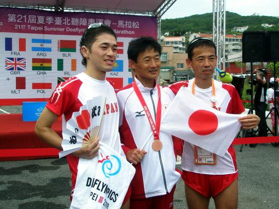 男子マラソンチーム