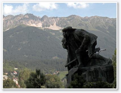 アンドレアス・ホーファー(Andreas Hofer)の銅像