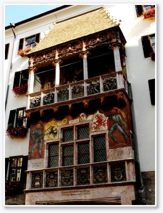 黄金の小屋根(Goldenes Dachl)