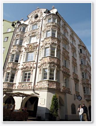 ロココ様式の華麗な装飾 ヘルプリングハウス(Helbinghaus)