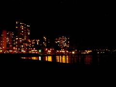 イングリッシュ・ベイからの夜景