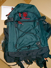 Backpack from AirCanada